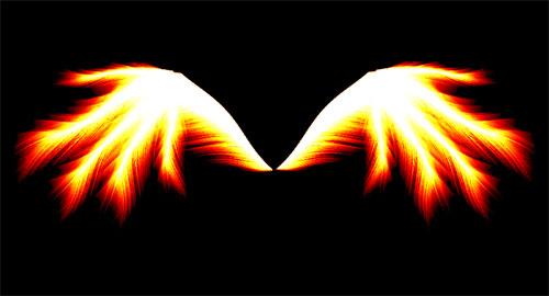 Крылья Фотошопа