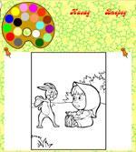 Онлайн раскраски для девочек и