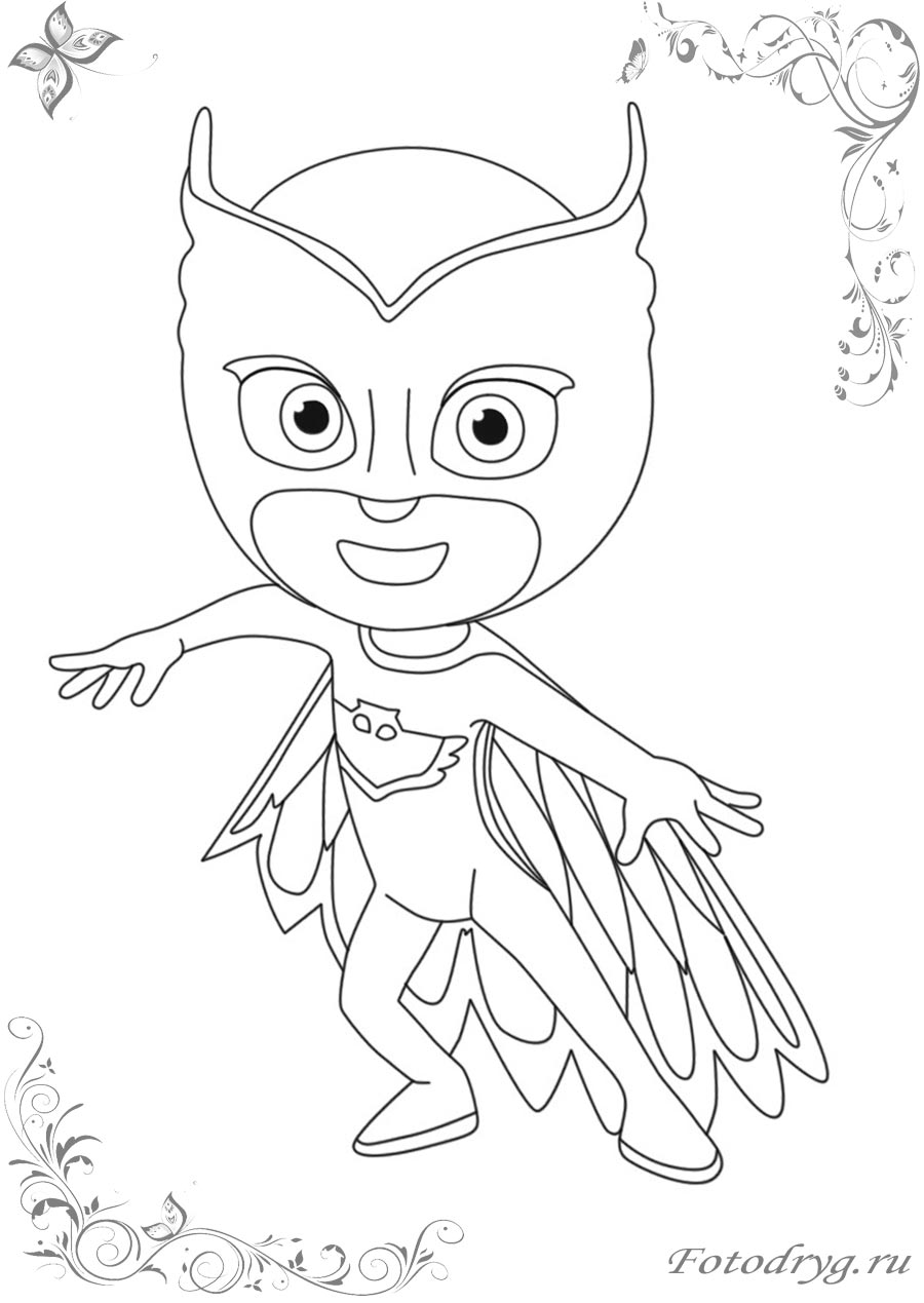 Герои в масках на онлайн раскрасках для мальчиков и девочек